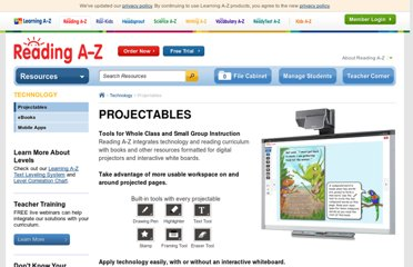 http://www.readinga-z.com/book/projectable-books.php?context=guided-reading