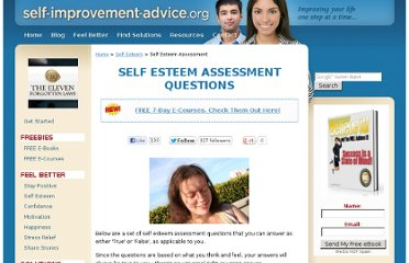 http://www.self-improvement-advice.org/self-esteem-assessment.html