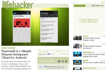 http://lifehacker.com/5896696/papermill-is-a-simple-elegant-instapaper-client-for-android