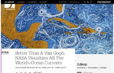 http://www.fastcodesign.com/1669361/better-than-a-van-gogh-nasa-visualizes-all-the-worlds-ocean-currents