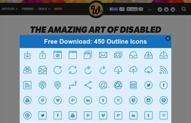 http://www.webdesignerdepot.com/2010/03/the-amazing-art-of-disabled-artists/