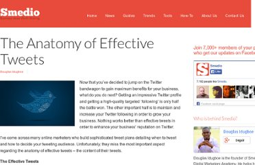 http://smedio.com/2012/03/27/the-anatomy-of-effective-tweets/