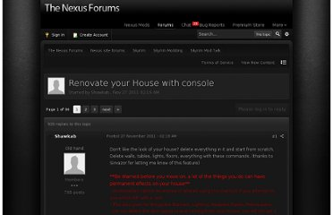 http://forums.nexusmods.com/index.php?/topic/477049-renovate-your-house-with-console/