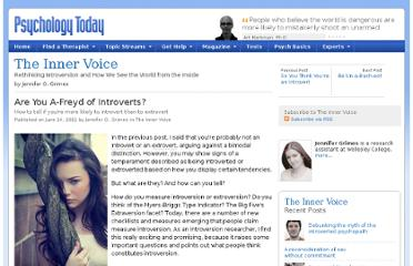 http://www.psychologytoday.com/blog/the-inner-voice/201106/are-you-freyd-introverts