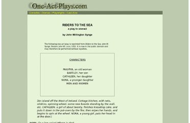 http://www.one-act-plays.com/dramas/riders_to_the_sea.html