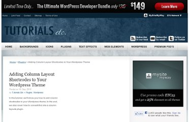 http://tutorials.mysitemyway.com/adding-column-layout-shortcodes-to-a-wordpress-theme/