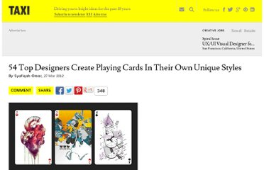 http://designtaxi.com/news/352026/54-Top-Designers-Create-Playing-Cards-In-Their-Own-Unique-Styles/