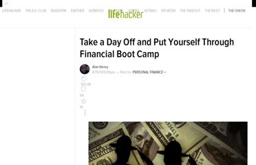 http://lifehacker.com/5845390/take-a-day-off-and-put-yourself-through-financial-boot-camp