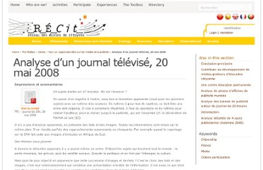 http://www.recit.net/?Analyse-d-un-journal-televise-20,1212
