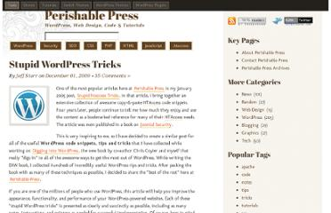 http://perishablepress.com/stupid-wordpress-tricks/#swt_09