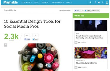 http://mashable.com/2010/03/23/social-media-design-tools/