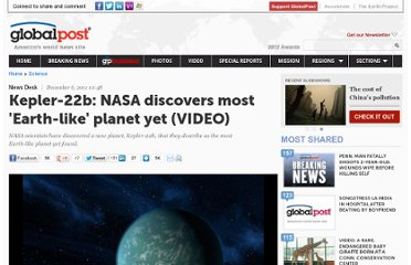 http://www.globalpost.com/dispatch/news/business-tech/science/111206/kepler-22b-nasa-discovers-most-earth-planet-yet-video