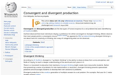 http://en.wikipedia.org/wiki/Convergent_and_divergent_production