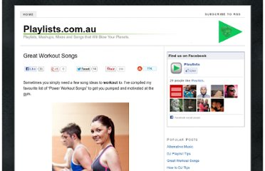 http://playlists.com.au/great-workout-songs/