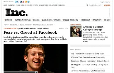 http://www.inc.com/noam-wasserman/fear-vs-greed-at-facebook.html