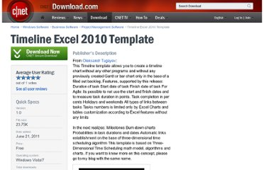 http://download.cnet.com/Timeline-Excel-2010-Template/3000-2076_4-75452049.html