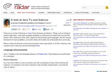 http://radar.oreilly.com/2011/09/java7-features.html