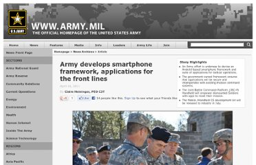 http://www.army.mil/article/55096/army-develops-smartphone-framework-applications-for-the-front-lines/