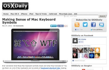 http://osxdaily.com/2012/03/27/making-sense-of-mac-keyboard-symbols/