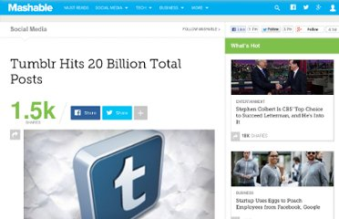 http://mashable.com/2012/03/28/tumblr-20-billion-posts/