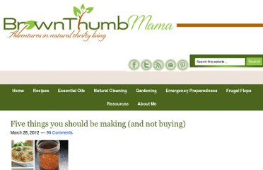 http://www.brownthumbmama.com/2012/03/five-things-you-should-be-making-and.html