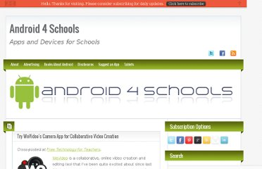 http://www.android4schools.com/2012/03/17/try-wevideos-camera-app-for-collaborative-video-creation/