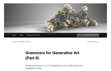 http://blog.hvidtfeldts.net/index.php/2008/12/grammars-for-generative-art-part-ii/