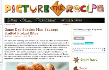 http://picturetherecipe.com/index.php/recipes/game-day-snacks-mini-sausage-stuffed-pretzel-bites/
