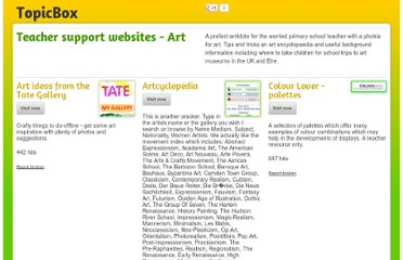 http://www.topicbox.org.uk/R.E./teacher_support_websites_art/