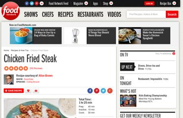 http://www.foodnetwork.com/recipes/alton-brown/chicken-fried-steak-recipe/index.html
