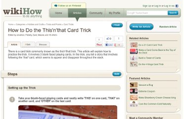 http://www.wikihow.com/Do-the-This%27n%27that-Card-Trick