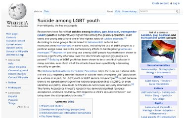 http://en.wikipedia.org/wiki/Suicide_among_LGBT_youth