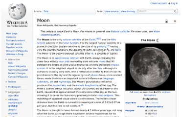 http://en.wikipedia.org/wiki/Moon#Appearance_from_Earth