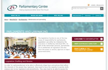 http://www.parlcent.org/en/what-we-do/our-expertise/parliaments-and-lawmaking/