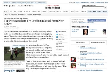 http://www.nytimes.com/2011/12/15/world/middleeast/photography-project-seeks-new-angles-on-israel.html