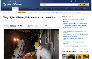 http://news.yahoo.com/very-high-radiation-little-water-japan-reactor-023552350.html