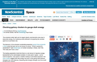 http://www.newscientist.com/article/dn21638-clocking-galaxy-clusters-to-gauge-dark-energy.html