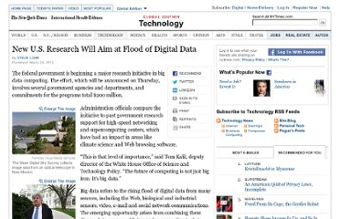 http://www.nytimes.com/2012/03/29/technology/new-us-research-will-aim-at-flood-of-digital-data.html