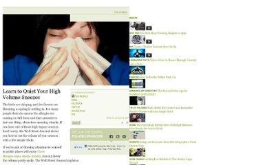http://lifehacker.com/5897392/learn-to-quiet-your-high-volume-sneezes