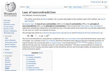 http://en.wikipedia.org/wiki/Law_of_noncontradiction