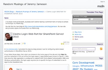 http://blogs.msdn.com/b/jjameson/archive/2011/02/25/claims-login-web-part-for-sharepoint-server-2010.aspx