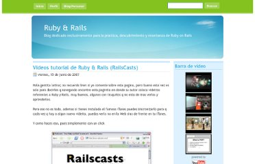 http://rubyonrails-cusco.blogspot.com/2007/06/videos-tutorial-de-ruby-rails.html