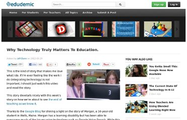 http://edudemic.com/2012/03/why-technology-truly-matters-to-education/