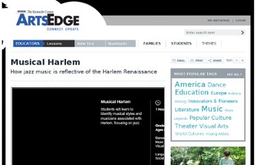 http://artsedge.kennedy-center.org/educators/lessons/grade-3-4/Musical_Harlem.aspx