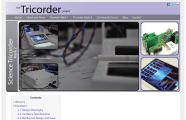 http://www.tricorderproject.org/tricorder-mark2.html