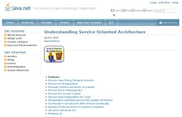 http://today.java.net/pub/a/today/2006/04/04/understanding-service-oriented-architecture.html