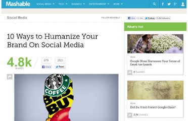 http://mashable.com/2012/03/29/humanize-brand-social-media/