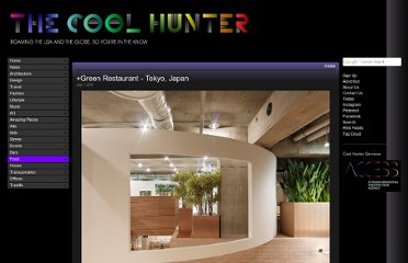http://www.thecoolhunter.net/article/detail/1958/green-restaurant--tokyo-japan
