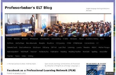 http://profesorbaker.com/2011/01/08/facebook-as-a-professional-learning-network-pln/