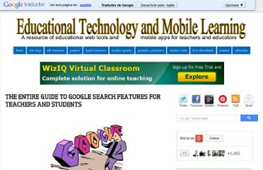 http://www.educatorstechnology.com/2012/03/entire-google-search-feature-for.html